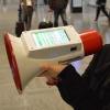 メガホンヤク 多言語対応 自動翻訳機能付き拡声器 成田空港で試験導入 場所と地図