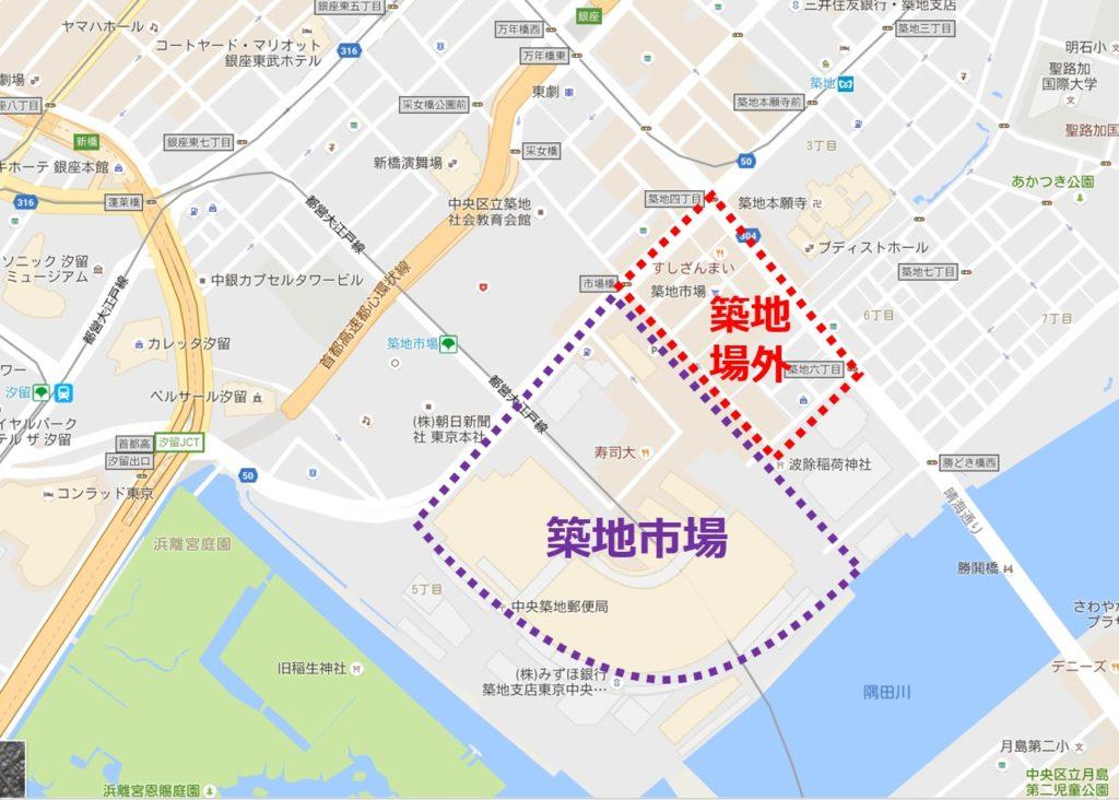 tsukiji-maps